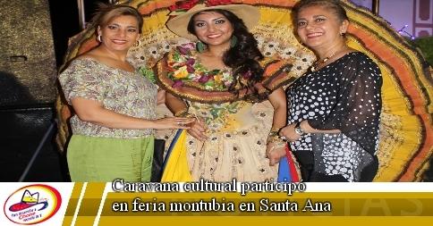 Caravana cultural participó en feria montubia en Santa Ana