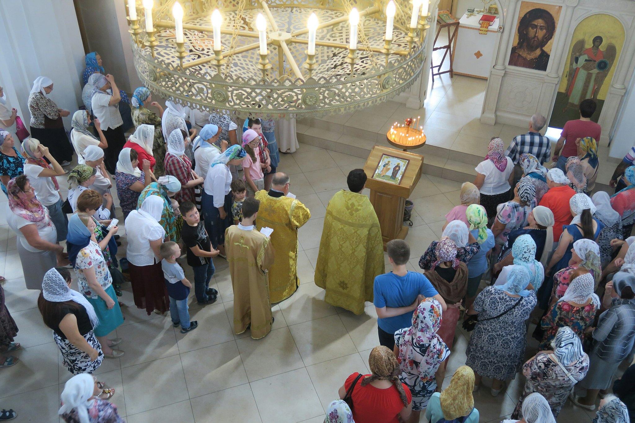 12 июля. Святых первоверховных апостолов Петра и Павла.