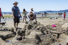 Davis Bay Sandcastle Competition 2018