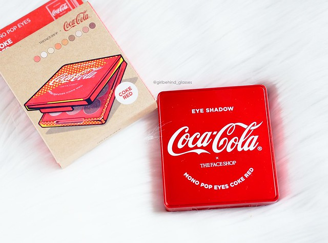The Face Shop x Coca-Cola Mono Pop Eyes Coke Red Palette