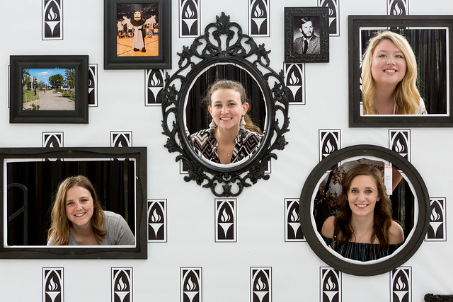 Friar Photo Wall - Reunion Weekend 2018