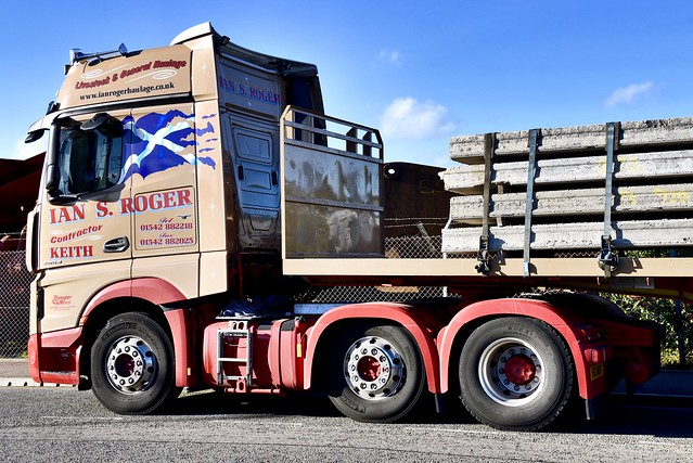 Mercedes Actros - Aberdeen Harbour Scotland - 21/6/2018