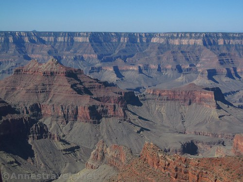 Spectacular views from Honan Point on the North Rim of the Grand Canyon, Arizona
