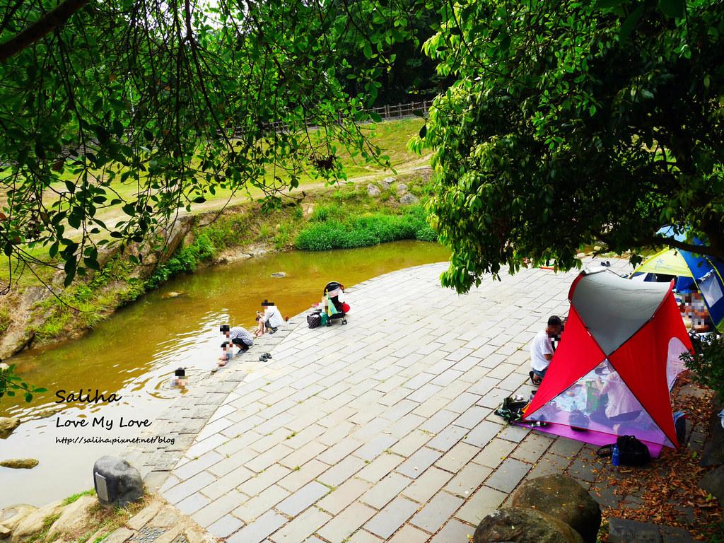 台北內湖一日遊親子玩水景點大溝溪親水公園 (1)