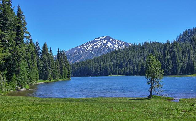 Todd Lake & Mt. Bachelor - Central Oregon