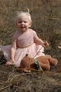 Honorable Mention - Heather Priestap - Baby with a Bear