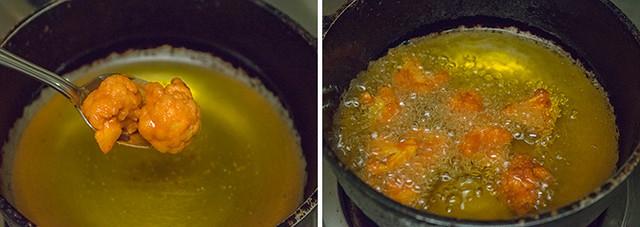 Gobi 65/Cauliflower 65 cooking steps by GoSpicy.net