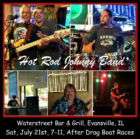 Hot Rod Johnny Band 7-21-18