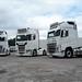 By Trucker Steve Sandell J Headley And Sons Fleet Volvo 750 FH4 HT15 JHT Scania S730 PU55 JHT Volvo 500 FH4 S5 JHT