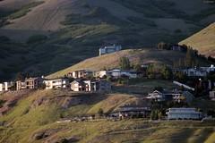Houses on Ensign Peak