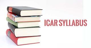 ICAR Syllabus