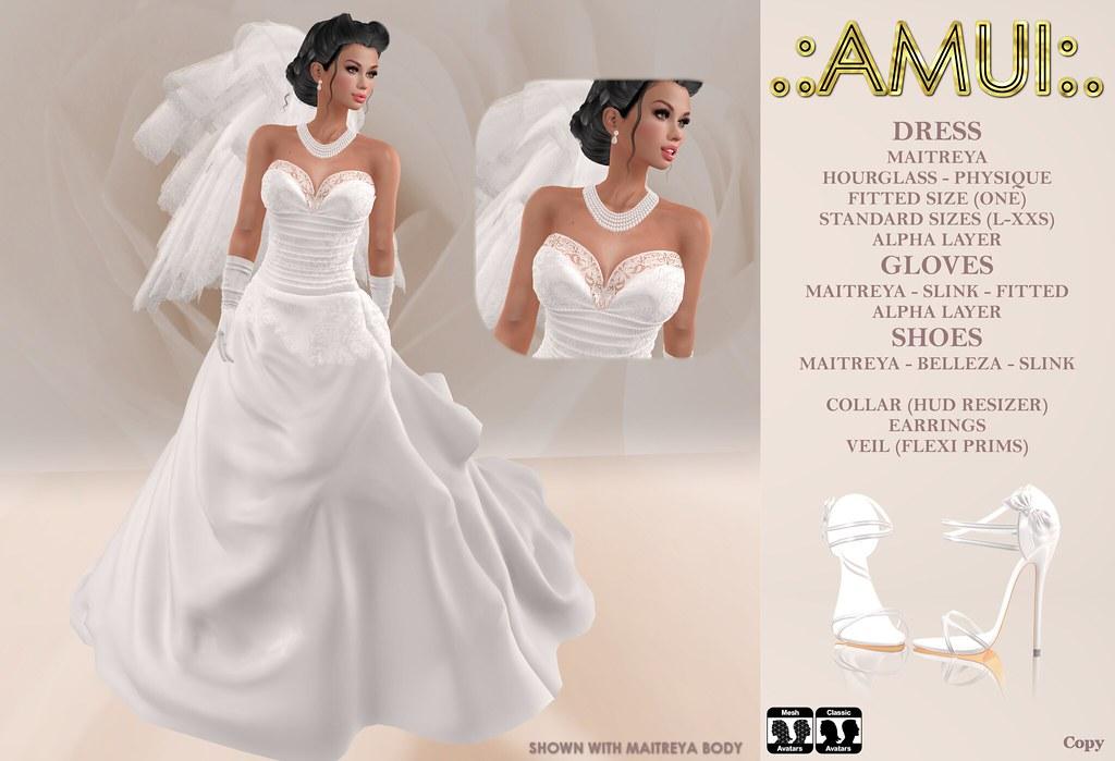 ".:AMUI:. ""Princess"" Bridal Dress - TeleportHub.com Live!"