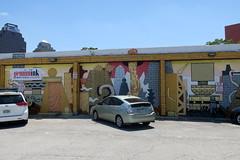 San Antonio - Downtown: Streetart by Basco Vazko