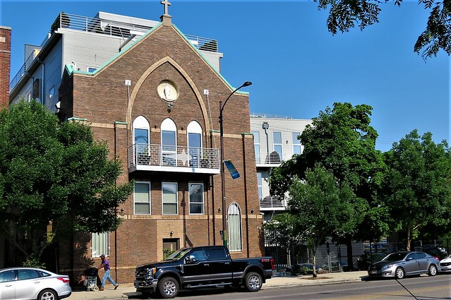 Before: Our Lady of Good Counsel /Now: condos