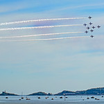 Red Arrows Over Mumbles
