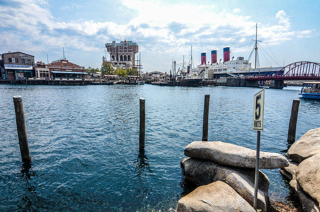 Water in front of American Waterfront TDS