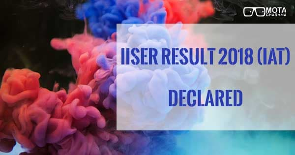 iiser result iat declared download iat result rank card