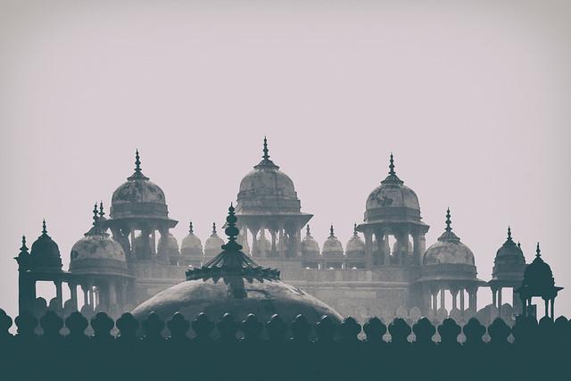 Chhatris | Fatehpur Sikri, India