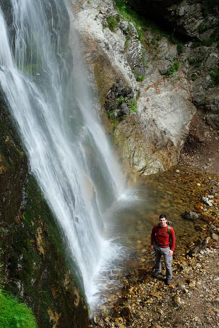 Šútov waterfall, Little Fatra, Slovakia
