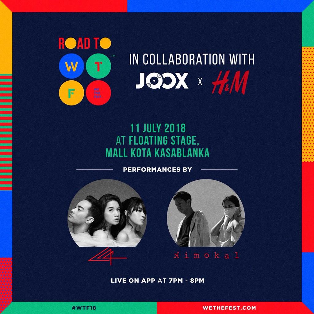 WTF18 - Pre-event - JOOX x H&M - 11 Juli