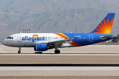 Allegiant Air | Airbus A319 | N334NV | Las Vegas McCarran