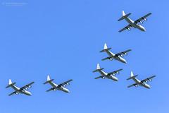 6 Ship RAAF Herc Flyover