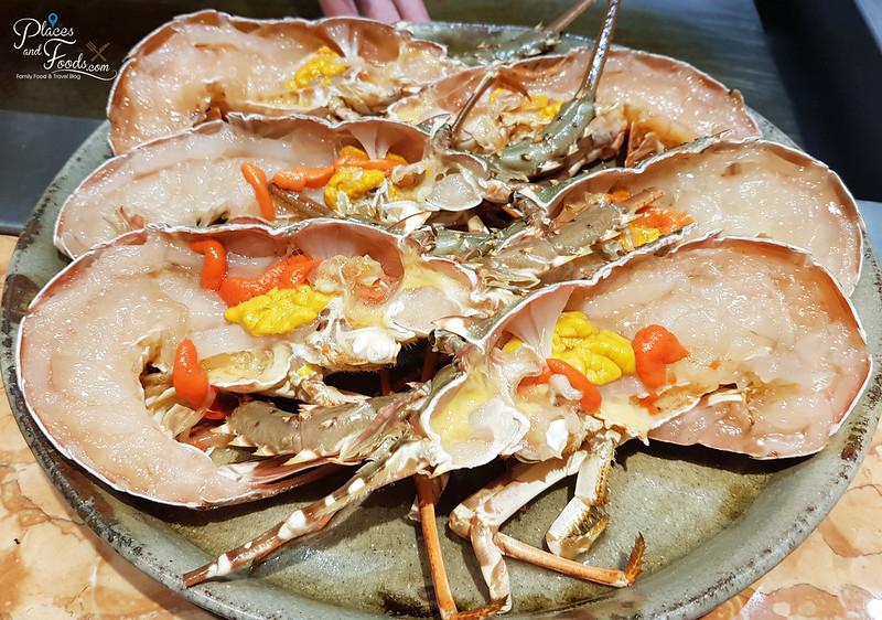 teppan by chef yonemura fresh lobster