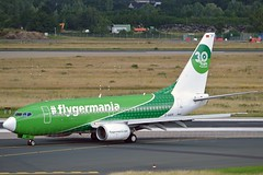 Germania D-AGER Boeing 737-75B cn/28107-27 30 Years flyGermania c/s @