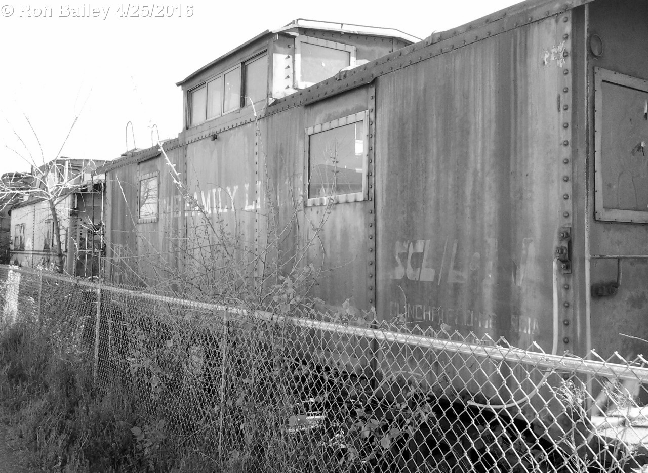 Old Family Lines caboose.