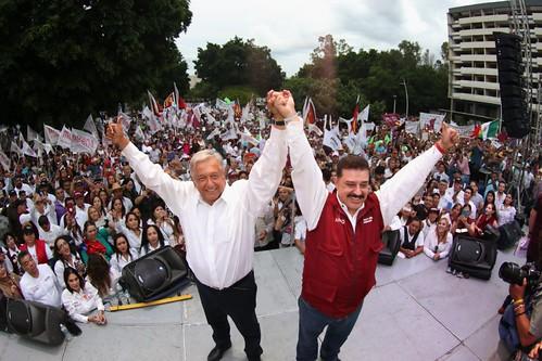 Cierre de Campaña - AMLO en Guadalajara (24/jun/2018)