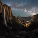 Yosemite Upper Falls - 银河落九天
