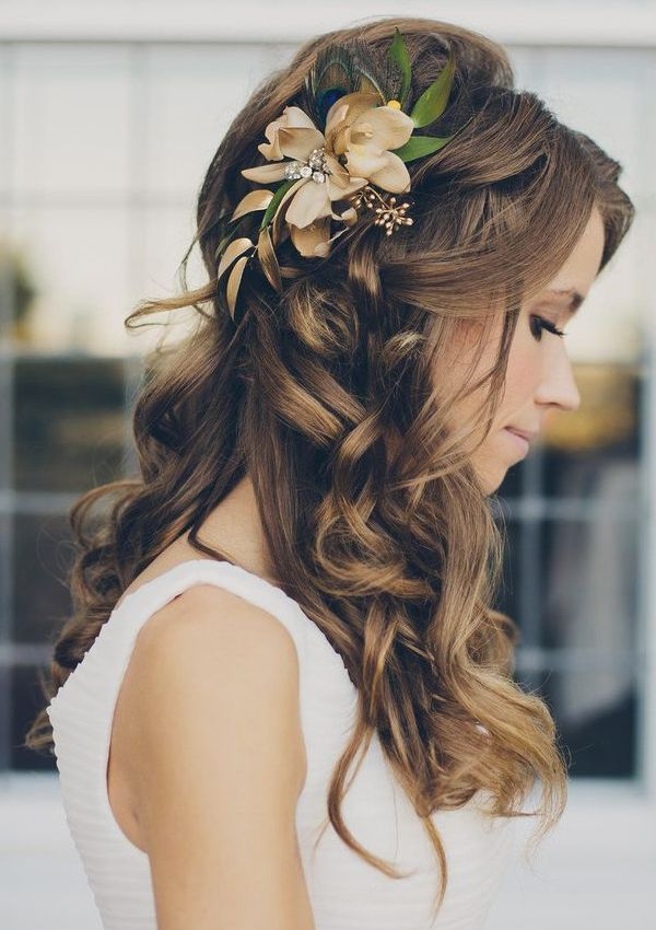 Fanciful Wedding Hairstyles 2018 For Chic Long Hair |Exclusive 9