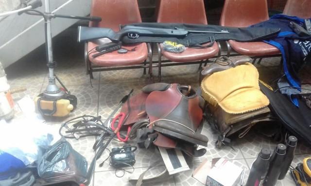 PM recupera em Mathias Lobato produtos furtados de fazendas no Leste de Minas