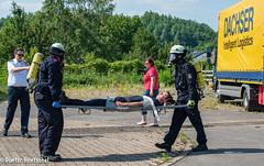 Öffentliche Jahreshauptübung der Feuerwehr Alsdorf