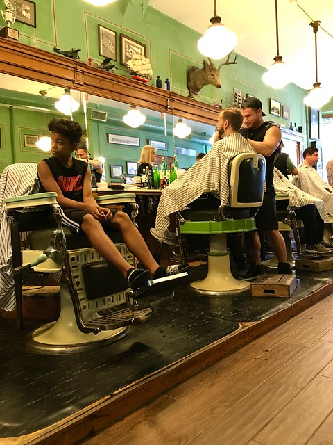 Saturday's a VERY busy day @ The Barbershop I like to go to....