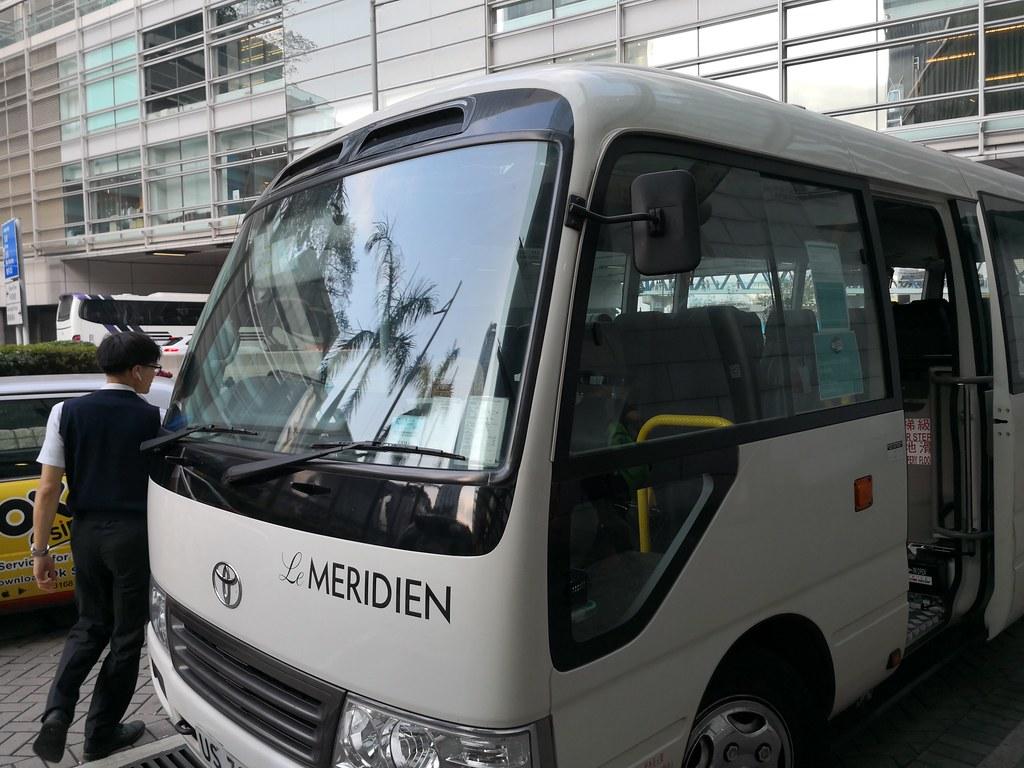 Le Meridien shuttle