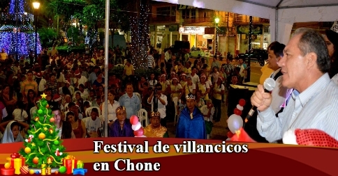 Festival de villancicos en Chone