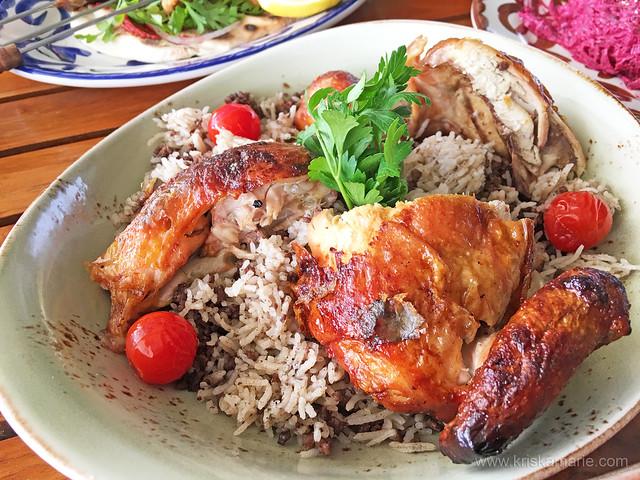 Chicken Rotisserie with Oriental Rice