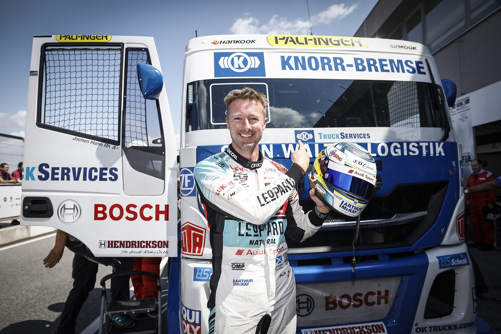 SHEDDEN Gordon, (gbr), Audi RS3 LMS TCR team Audi Sport Leopard Lukoil, portrait during the 2018 FIA WTCR World Touring Car cup race of Slovakia at Slovakia Ring, from july 13 to 15 - Photo François Flamand / DPPI.