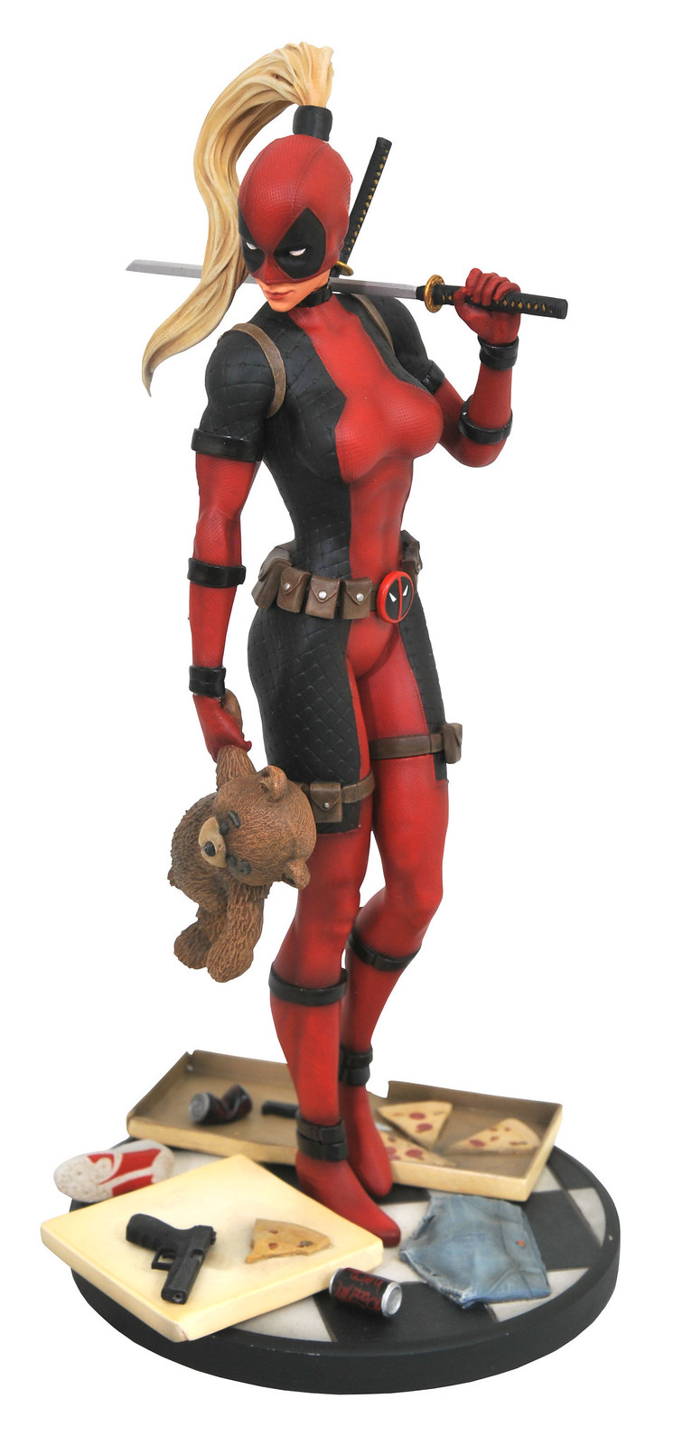 Diamond Select Toys Marvel【死侍小姐】Lady Deadpool 全身雕像作品