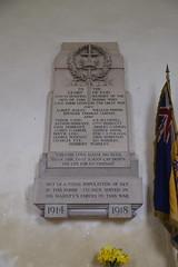 WWI memorial (Munro Cautley, 1920)