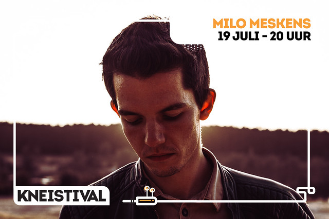 Kneistival 2018 Milo Messkens, Gers Pardoel, Discobar Galaxie (Heldenplein, Heist) 19/07/2018