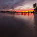 Ending at the River & Sand by Ken Krach Photography