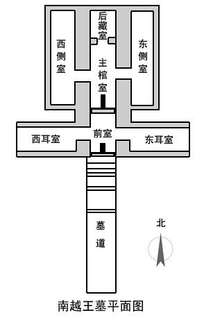 南越王墓平面图