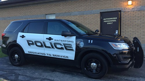 Waterford Police Ford Police Interceptor Utility