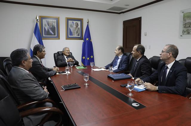 Reunión con representantes de la Unión Europea (1)