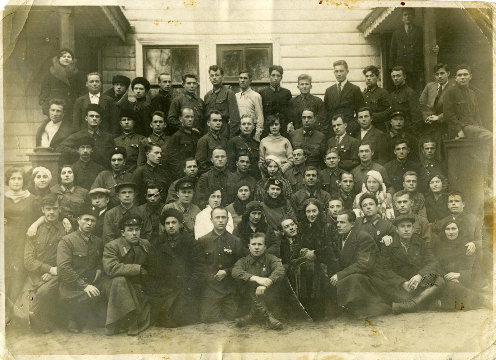 1938. Группа работников системы ГУЛАГа