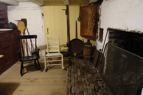 Basement fireplace in Jost House. From History Comes Alive in Sydney, Nova Scotia