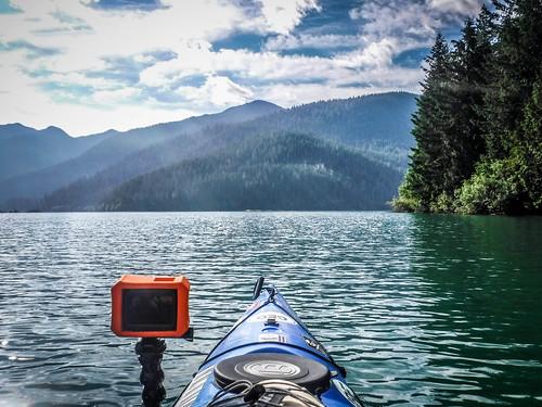Kayaking on Baker Lake-41