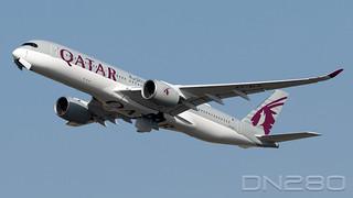 Qatar A350-941 msn  124